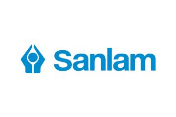 Sanlam logo. The Knysna Education Trust won the Top Charity Award in 2014 in the Sanlam Knysna Business Awards